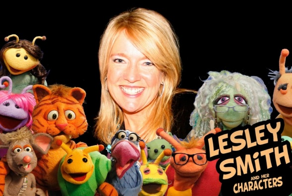 Lesley and friends